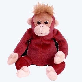 (12) SCHWEETHEART The Orangutan TY Beanie Babies, 1  DOZEN NEW