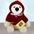 Dept. 56 BELLA 2003 HOLIDAY BEAR  52303 white plush NEW