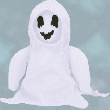 (12) SHEETS The GHOST, Halloween, TY Beanie Babies 4260, DOZEN New MWT,