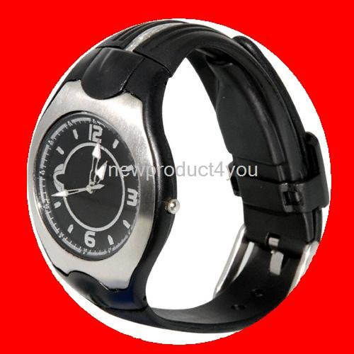 NEW Arrival USB Watch built in 8GB Flash Memory Black