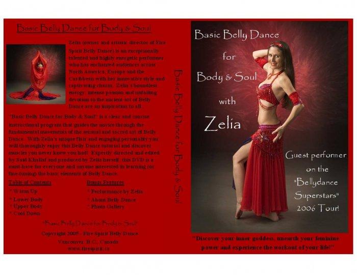 Basic Belly Dance for Body & Soul