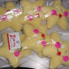 Plush Sqeaker Star Toy