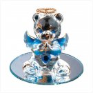 Sept Glass Angel Bear with Heart 35075