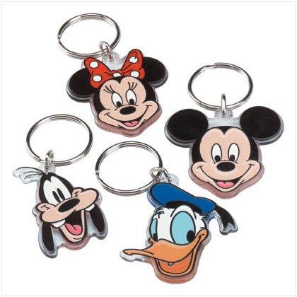 Disney Assorted Face Keyring 34047