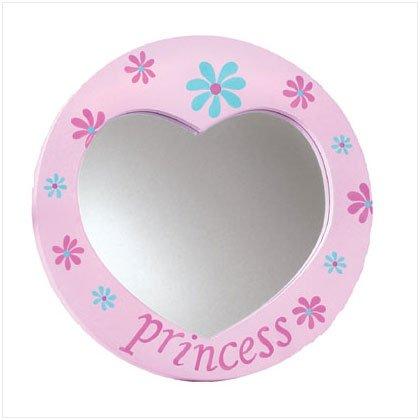 Princess Heart Wall Mirror 36250