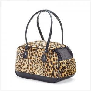 Leopard Pattern Pet Carrier 37110