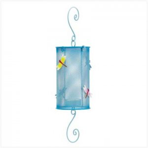 Dragonfly Metal Lantern 37887