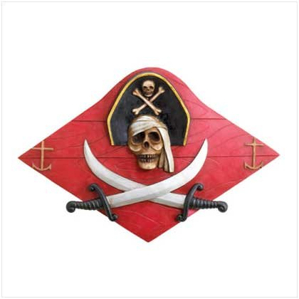 Pirate Plank Wall Plaque 36344