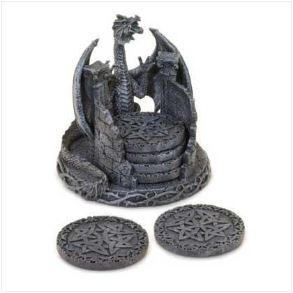 Dragon Holder Coaster Set