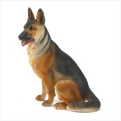 German Shepherd Figurine