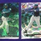 Two Card Lot Ken Griffey Jr. 1999 Seattle Mariners HoloGrFx Baseball Card