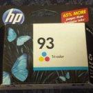 Genuine HP 93 Tri-Color Ink Cartridge C9361WN NIB