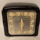 Vintage Art Deco 1-Hour Minute Timer Kitchen Black with stainless Bakelite dial