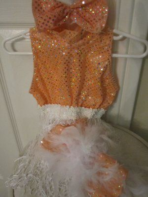 20s FLAPPER COSTUME Girls (S) 3T 4-6 MOULIN ROUGE