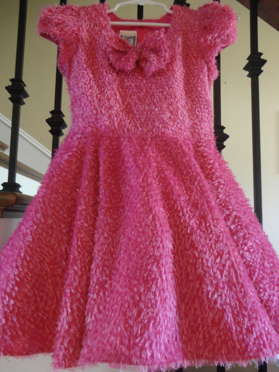 VTG PAGEANT Hollywood Babe BABY DOLL COSTUME DRESS 6x