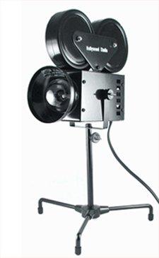 Hollywood MOVIE CAMERA LIGHT Room Decor & DESK LAMP NIB