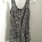 Bebop ANIMAL PRINT SHORT ROMPER NEW sz (s)