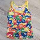 M&M's Tank Top PJ SHIRT Tee Cami