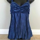 Silky BCX CAMI TOP (M) Blue NWOT