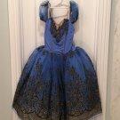 ROYAL TUTU DRESS Blue Sz L Pageant Dance