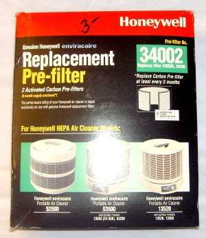 Honeywell Universal Replacement Pre-filter #34002 (2 Pack)