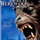 An American Werewolf in London  Horror Cult VHS