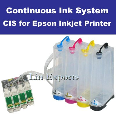 Bulk Ink System for Epson C79 C90 CX3900 CX4900 CX5900 CX6900F CX7300 CX8300 FREE S/H WORLDWIDE!!!