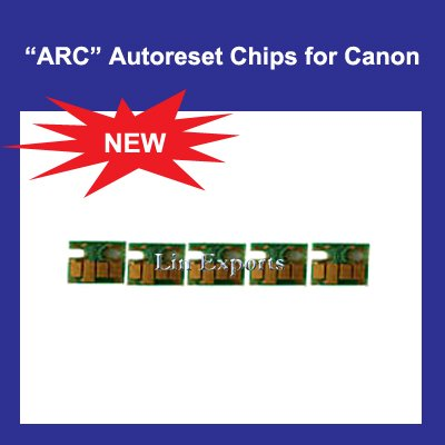 Auto Reset Chip for Canon PGI-520PK, CLI-521 BK/C/M/Y  ARC Chips - FREE SHIPPING WORLDWIDE!!!