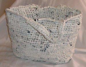 THE ULTIMATE PLASTIC BAG TOTE HANDMADE CROCHET CROCHETED WALMART BAGS
