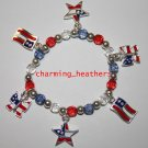 New patriotic flag bracelet