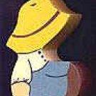 Amish Boy - Wooden Miniature
