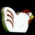 Chicken - White - Wooden Miniature