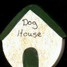 Dog House - Green - Wooden Miniature