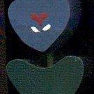 Heart Tulip - Dark Blue - Wooden Miniature