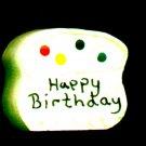 Birthday Cake - Wooden Miniature