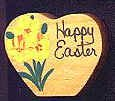 Happy Easter  - Wooden Miniature