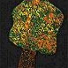 Fall Tree - Thanksgiving Wooden Miniature