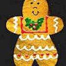 Gingerbread Girl - Christmas Wooden Miniature