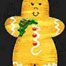 Gingerbread Boy - Christmas Wooden Miniature