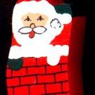 Chimney Santa - Christmas Wooden Miniatures