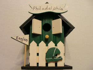 NFL - Philadelphia Eagles Bird House