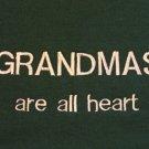 Grandmas are All Heart - Large Embroidered Sweatshirt