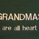 Grandmas are All Heart - X-Large Embroidered Sweatshirt