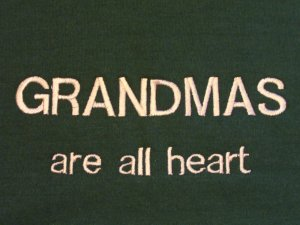 Grandmas are All Heart - X-Large Embroidered Sweatshirt