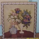 "LG Victorian Lady & Florals ""Averill""Signed  Lithograph"