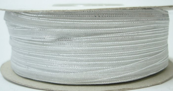 3mm White Organza Ribbon