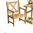 "37"" High Pine Outdoor Chair  Item#033"
