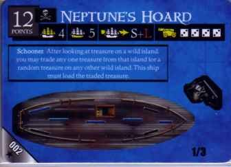 Pirates Revolution POTR #002 Neptune's Hoard
