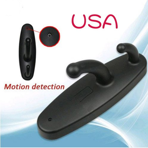 Mini Clothes Hook 4GB Spy Camera DVR With Motion Activated