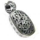 Gerochristo 3343 - Filigree Medieval-Byzantine Pendant- Sterling Silver